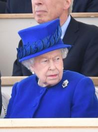 The Queen Unveils A New National War Memorial