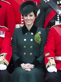 The Duchess Stuns On St Patrick's Day
