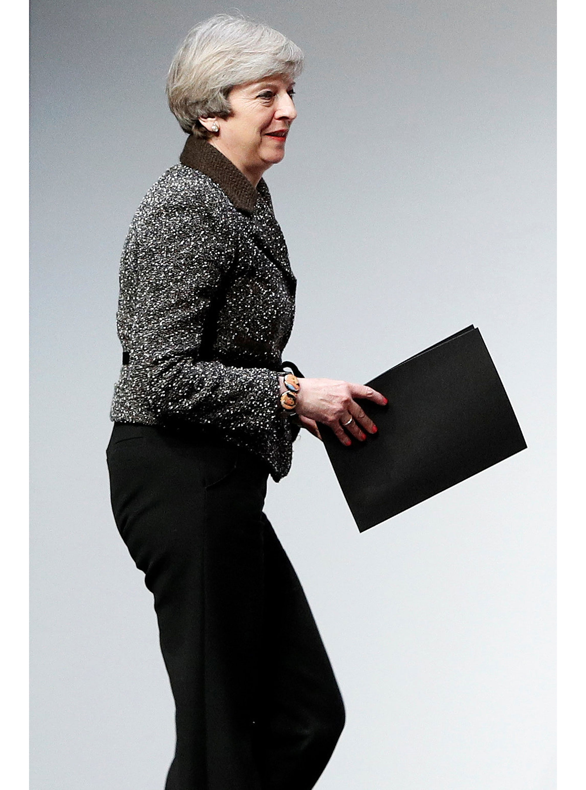 Theresa May And Other Politicians Respond To Legs-It' Controversy