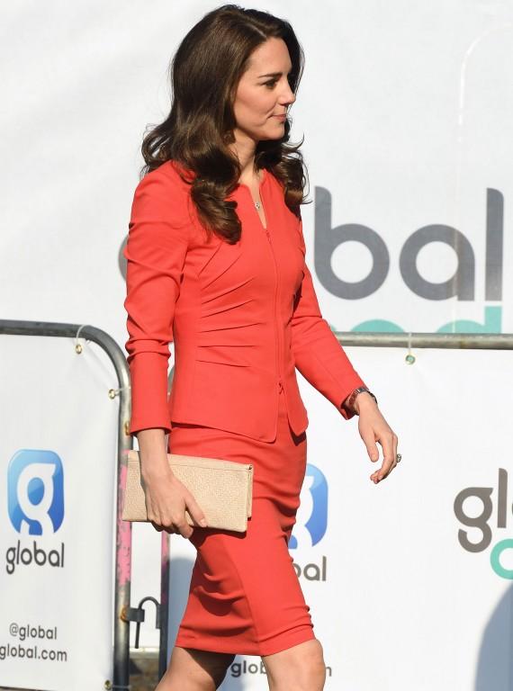 Duchess of Cambridge in Red Dress