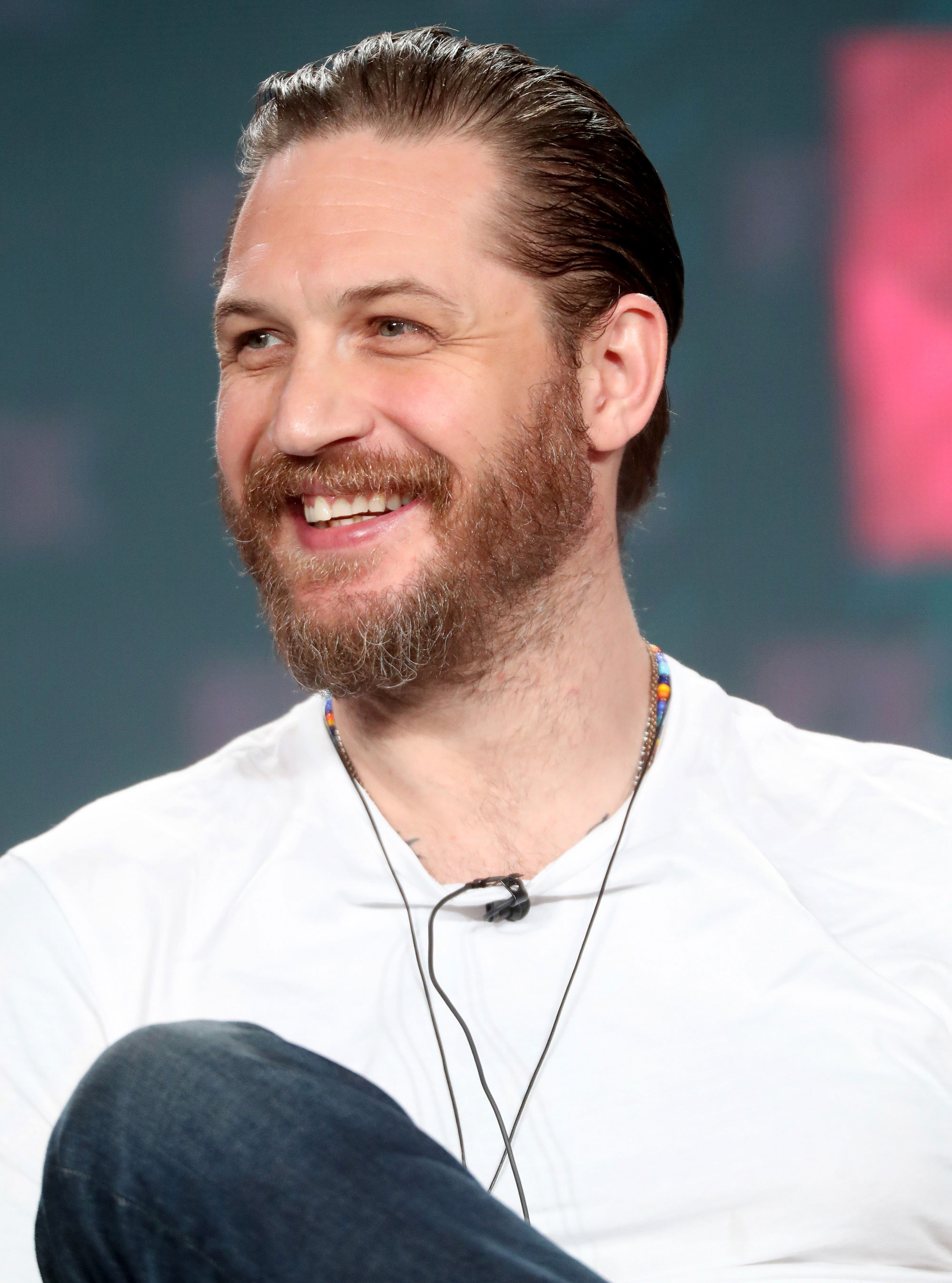 Tom Hardy Chases Moped...