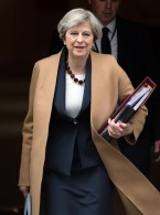 Theresa May Most Popular Leader Since 1970s