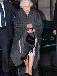 The Story Behind The Queen's Unusual Bag
