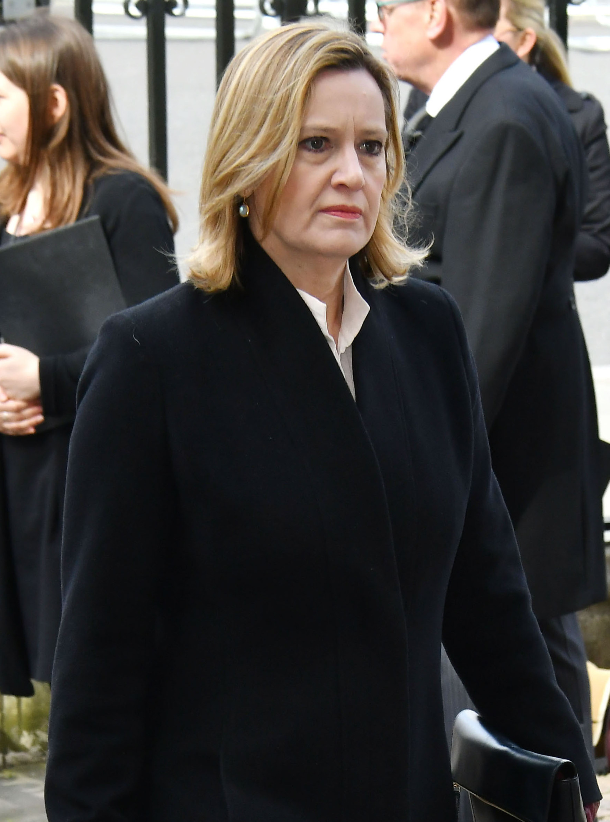 Amber Rudd Steps Up For Election Debate Despite Losing Her Father 48 Hours Earlier