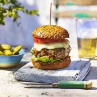 Turkey Burgers With Chorizo