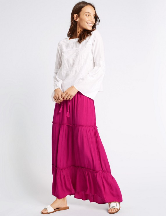 Maxi skirts and dresses
