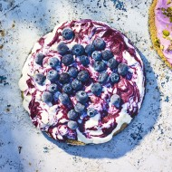 Blueberry And Vanilla Icebox Cake