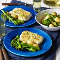 Roast Cod And Miso Butter