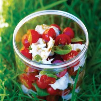 Mozzarella Salad with Cherry Tomatoes