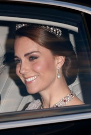 The Duchess Of Cambridge Was The Only Royal NOT Wearing This Special Regal Accessory At The State Banquet...