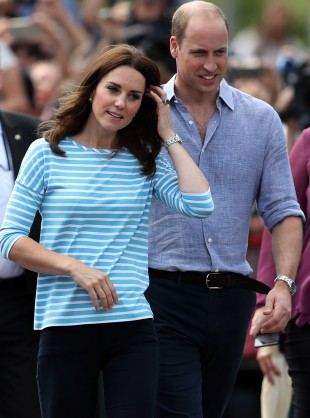 A Duke And Duchess Of Cambridge Rowing Race Reveals Their Competitive Side In Germany...