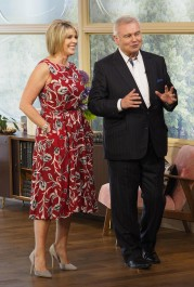 You Can Get Ruth Langsford's Gorgeous Red Dress From This Morning Yesterday For Just £22!