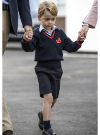 Behind-The-Scenes On Prince George's First School Day: What It Takes To Get A Royal To School