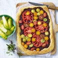 Tomato Tart with Caramelised Red Onion