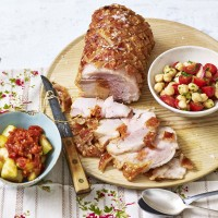 Pork and Chorizo Roast