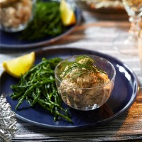 Smoked Salmon Paté with Yuzu