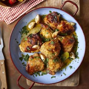 Garlic Chicken with Sherry