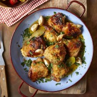 Garlic Chicken with Sherry