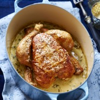 Tarragon Roast Chicken