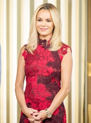 Amanda Holden S Red Marks Amp Spencer Ensemble Is Perfect