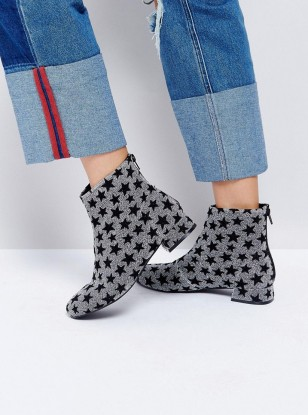 These ASOS Boots Are Pretty Much An Exact Copy For The Super Festive YSL Constellation Boots