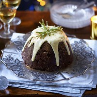 Christmas Tiffin Pudding
