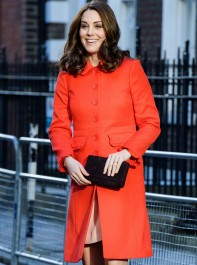 The Duchess of Cambridge Shows Us How To Wear Brights Right With A Stunning High Street Coat
