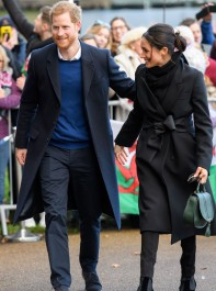 The Hidden Significance Behind Meghan Markle's Outfit In Wales Yesterday